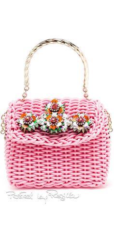 RosamariaGFrangini   High Bags   Pink Desire   APinkAffair   Pink Bag by Shourouk