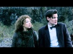 Doctor Who Series 7 DVD Boxset Minisode - Rain Gods//HERE YOU GO YOU ARE VERY WELCOME EXTRA FOOTAGE OF THE DOCTOR AND RIVER