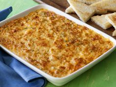 Get this all-star, easy-to-follow Food Network Shore Is Good Seafood Dip recipe from Paula Deen.