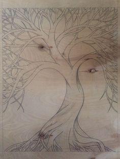Descubra la joyería Yggdrasil Tree of Life en la tienda MENVIKING, haga clic en . Sculpture Dremel, Art Sculpture En Bois, Dremel Wood Carving, Wood Carving Art, Wood Art, Wood Carving Designs, Wood Carving Patterns, Carved Wood Signs, Celtic Designs