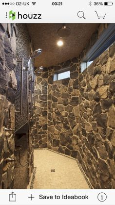 walk thru shower   Walk through shower