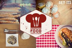 Homemade Food 30xHiRes – SET 3 by RaumRot on Creative Market