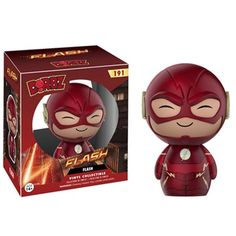 This is Funko The Flash Dorbz The Flash Vinyl Figure that is produced by the neat folks over at Funko. The Flash looks great in his Funko Dorbz style. Adorable!