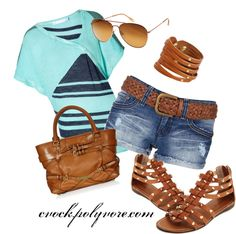 """""""summer outfit"""" by cvock on Polyvore"""