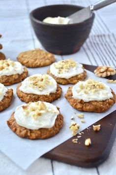 Carrot Cake Cookies, Something Sweet, Let Them Eat Cake, Carrots, Brunch, Food And Drink, Sweets, Snacks, Baking