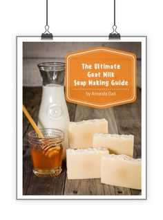 Learn to make goat milk soap using our 50 page Ultimate Goat Milk Soap Making Guide eBook! This 50 page guide will walk you through the process of making goat milk soap using farm fresh goat milk.