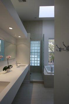 Japanese modern asian bathroom and modern asian on pinterest for Small bathroom zen style