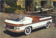 "1950sbeautifulyears: "" 1956 Fiat Multipla Marine (Pininfarina) "" ☠"