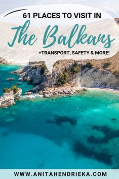 Balkans Travel: 61 Places to Visit in the +Transport, Safety & More! It's hard to find a lot of information about Balkans that's factual and up to date. As it's such a fast-growing region of and Balkan's tourism is starting to tak Europe Destinations, Europe Travel Guide, Travel Guides, Europe Places, Rome Travel, Cool Places To Visit, Places To Travel, Les Balkans, Travel Photographie