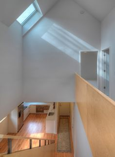 The Matchbox House is a four bedroom house in a rural area near Ann Arbor. The house only has 1740 sf of conditioned space and a one car garage.