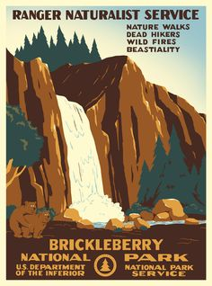 brickleberry poster - Google Search
