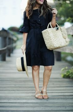 86b0853b803 How to maintain your style as a mom. - dress cori lynn. Black bell