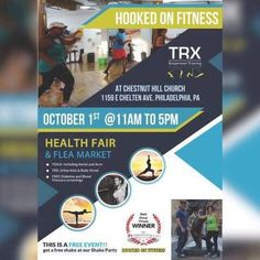 Check out this awesome event! Here is a chance to check out how a fitness routine can change your life for FREE! Sample classes blood pressure and diabetes testing all for FREE!  Hope to see you there! Another shot from #HookedOnFitness