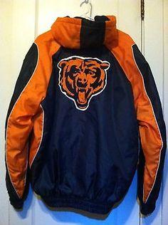 Vintage NFL Team Logo Jacket  Chicago Bears