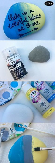 Kindness rocks! So spread it around with this easy, step by step guide. Use your favorite Testors Craft acrylic paints and/or enamels to create a personal design on rocks of all shapes and sizes. Leave a little sage advice, a few kind words or an inspirational message with Testors paint markers and hide it. It's sure to leave a smile on the face of whomever finds it next. We can feel the love already!