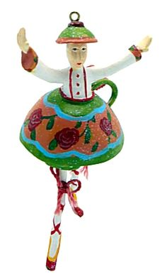 Polichinelle Nutcracker - Chinese Tea Girl - 56.39336 - 5 assorted - 6""