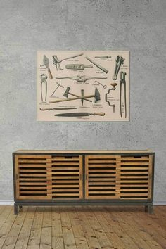 Blacksmith Sideboard Cabinet   Unique Buffets Furniture Online - Fat Shack Vintage Industrial Style Furniture, Vintage Industrial, Rustic Feel, Rustic Style, Leather Furniture, Wood Furniture, Open Shutters, Reclaimed Wood Frames, Furniture Care
