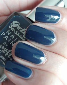 Barry M Gelly Hi-Shine - Blue Plum