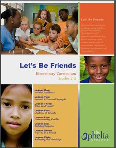 Elementary curriculum on building and maintaining friendships