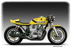 1982 Suzuki GS 1100G. To much power. The tail is ugly. Beyond that the shape is good.