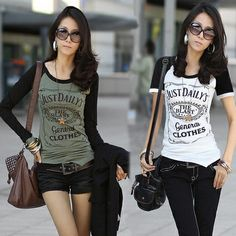 NEW 2014 summer Casual Women Slim plus size Cotton Tops letter patchwork Fashion female short-sleeve T-shirt 3 color wholesale