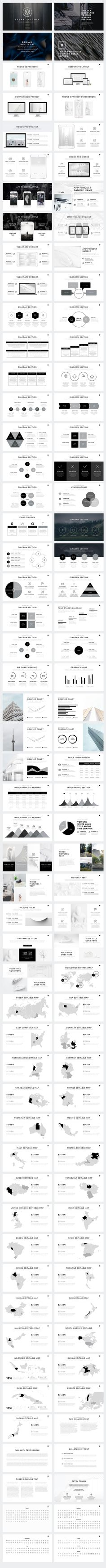 """Now you can download """"Verzus"""" Minimal PowerPoint Template Builder here: http://bit.ly/Verzus-PW"""