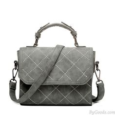 Fall Winter Frosted Spiraea Rhombus Messenger Bag Small Square Handbag Shoulder Bag only $28.99 in ByGoods.com!