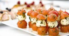 Easy Wedding Finger Foods | Fresh produce prepared and presented by our experienced staff, whether ...