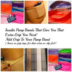 Insulin pump bands a cool new way to keep them exactly where you want them http://bit.ly/1uYAsm6 #insulinpump #type1