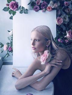 Elisabeth Erm, para Dior Mag