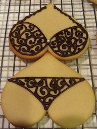HAHAHA Bachelorette party cookies