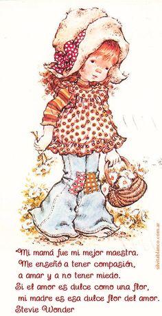 Frases dedicadas a la Madre Ilustraciones Sarah Kay Sara Kay, Romantic Paintings, Baby Painting, Heart Illustration, Decoupage Vintage, Lovely Creatures, Holly Hobbie, Baby Prints, Art Studios