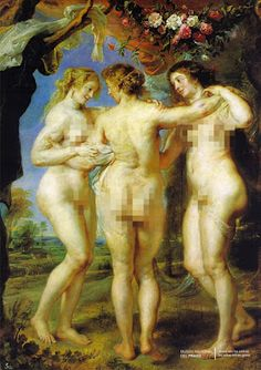 Peter Paul Rubens The Three Graces, , Museo del Prado, Madrid. Read more about the symbolism and interpretation of The Three Graces by Peter Paul Rubens. Peter Paul Rubens, Caravaggio, Monet, Pedro Pablo Rubens, Rubens Paintings, Greek Paintings, Paintings Famous, Baroque Art, Renoir