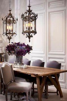 Adorable 75 Vintage Dining Table Design Ideas DIY https://lovelyving.com/2017/09/20/75-vintage-dining-table-design-ideas-diy/