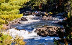 - many falls + cataracts on the TwinBridgesTrail Twin Bridges, Ontario Parks, Trail Guide, Camping Places, Hair Color And Cut, Fall Pictures, Rv Travel, Get Outside, Waterfall