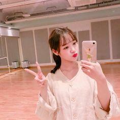 [Weki Meki] Yoojung Produce 101, Choi Yoojung, Kim Doyeon, Ioi, Your Girlfriends, Pink Aesthetic, Kpop Girls, Korean Girl, My Idol