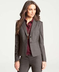 Looking for a suit for an upcoming interview? Ann Taylor Loft has suits that are reasonably priced and you can often find coupons to cut the cost.