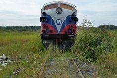 Abandoned train in Ohio