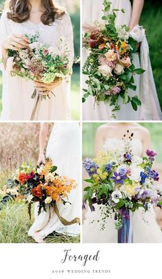 Top Wedding Trend - Foraged Flowers