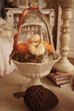 My Romantic Home: Fall decorating from years past
