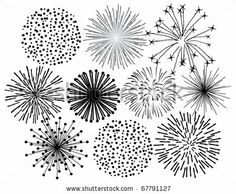 How To Draw Fireworks Easy Drawing Lesson For Kids Easy Guy