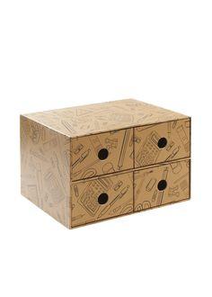 4 Drawer Desk Tidy x x - Matalan Desk Tidy, Matalan, Desk With Drawers, Organising, Decorative Boxes, Organization, Storage, Home Decor, Organized Desk