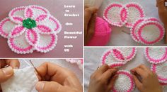 Gorgeous Flower to Crochet