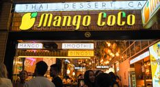 Mango Coco, Sydney Coconut Drinks, Coconut Smoothie, Thai Milk Tea, Boba Pearls, Salted Egg Yolk, Crispy Sweet Potato, Bingsu, Sparkling Drinks, Thai Dessert