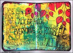 one of my Art Journalpages