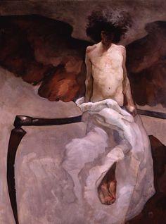 Franz von Stuck ~ Symbolist & Expressionist painter ~ The Secession Movement Jeff Jones, Ange Demon, Art Graphique, Gustav Klimt, Figurative Art, Dark Art, Traditional Art, Art Inspo, Painting & Drawing
