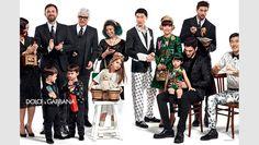 Kim Sang Woo, Jino Chun for Dolce & Gabbana Fall 2015 campaign