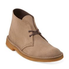 Desert Boot Wolf Suede - Clarks Mens Shoes - Lace-ups and Slip-ons - Clarks - Clarks® Shoes Size 9.5