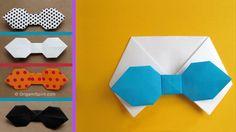 Paper Bowtie for a Halloween Custome - Corbatín o Corbata de moño
