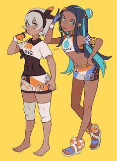 Bea and Nessa Lucario Pokemon, Pokemon Waifu, Pokemon Oc, Pokemon People, Pikachu, Pokemon Fan Art, Pokemon Games, Cute Pokemon, Mighty Power Rangers